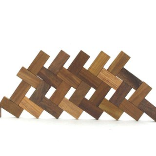Wood Domino Blocks Set with wood box