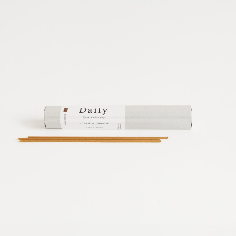 [Daily] Hyogo Prefecture Awaji Island Incense-White Sandalwood