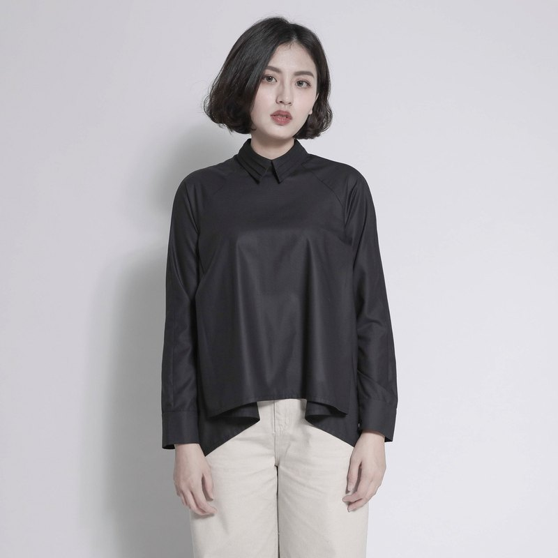Ethereal Ethereal Short Short Shirt_7AF050_Black