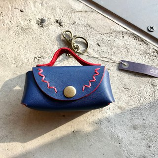 POPO│正蓝│Leather Storage Key Bag│