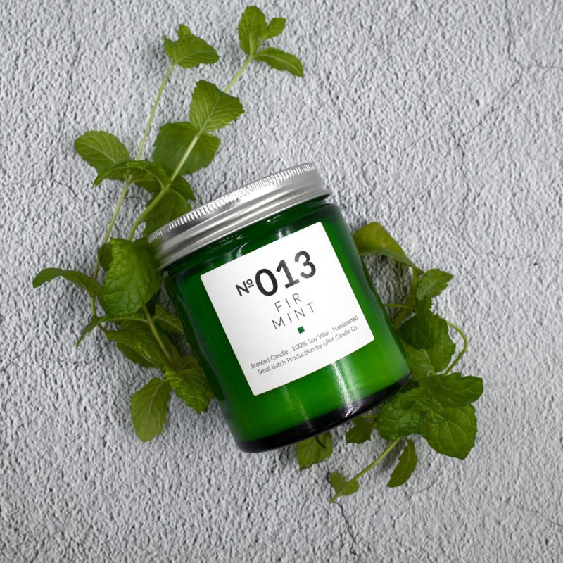 013 FIR MINT Woody Scented Candle Space Diffuser