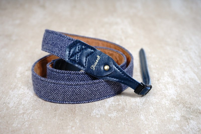 Blue people feel comfortable pressure camera strap 2.5