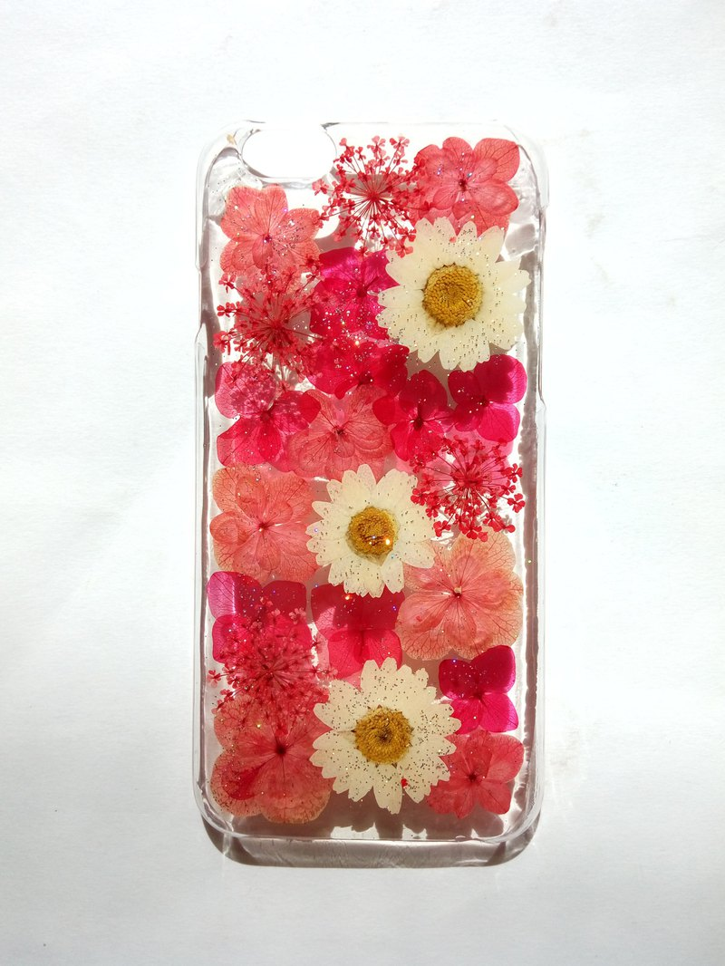 Pressed flowers phone case, iPhone6, iPhone 6S, Blooming (on sale)