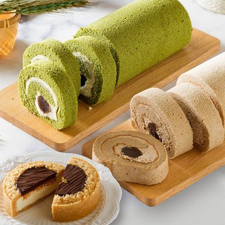 Free shipping Ai Bosuo [Sweet Heart Roll 2 + Belgian Chocolate Cheese 4吋] Apple Daily Cake Third Runner