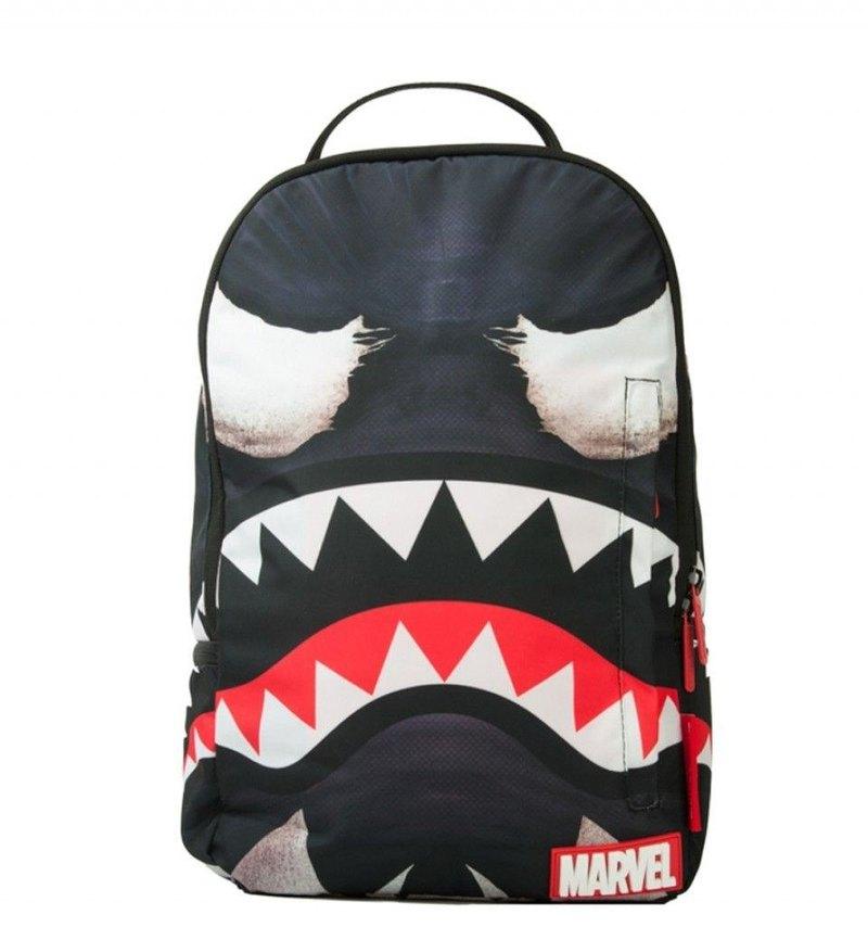 885198c8f33a7b 【SPRAYGROUND】 DLX MARVEL Joint Series Venom Shark Mouth Blowing Shark  Trends Backpack - Designer sprayground-tw - Backpacks | Pinkoi