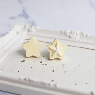 Un Jess Cadeau / Star Car Air Clamp. One Pair. Natural Essential Oil (with 1ml essential oil)