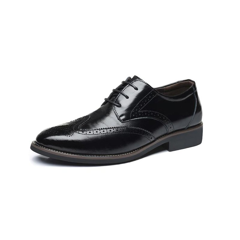 Kings Collection Dwight Oxford Shoe KCCS10 Black