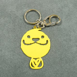 LAZYMARU MA001019 simple gentleman love key ring method bucket accessories Taiwan Wenchuang