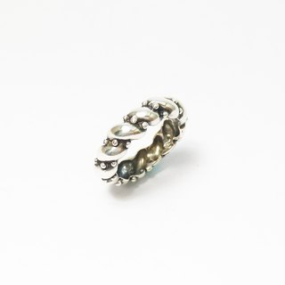 Small jellyfish dance. 925 Silver Ring