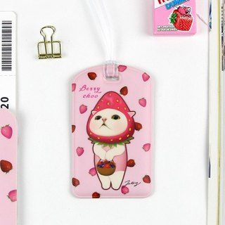 JETOY, sweet cat travel tag second generation _Berry choo J1712302