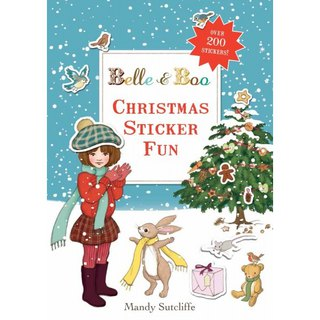 Belle & Boo Festive Christmas Interactive Game Sticker Book