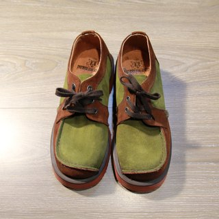 Back to Green:: George cox 撞色 vintage shoes