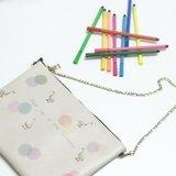 清純鴨子雙面印花手拿包手袋 Cute Duck Clutch Handbag by Shuki Design