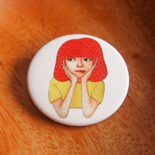 Little badge - mediator girl