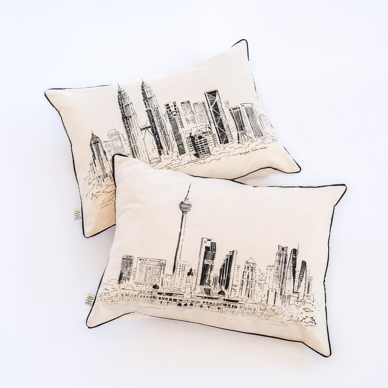 Pillow cover KL Skyline set