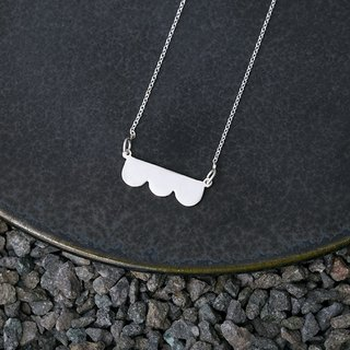 Misstache N.3 Miss Beard No. 3 Sterling Silver Necklace 925 Silver Necklace