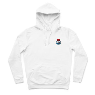 Eye drops - White - Hooded T-shirt