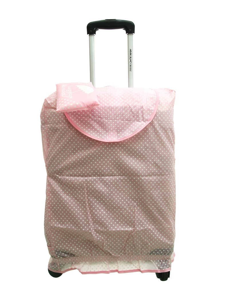 Mizutama raincoat Foldable protective cover - Pink