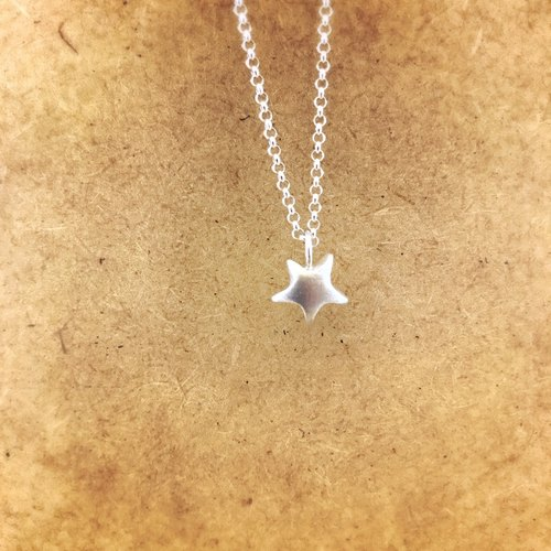 Wish Star Silver Necklace