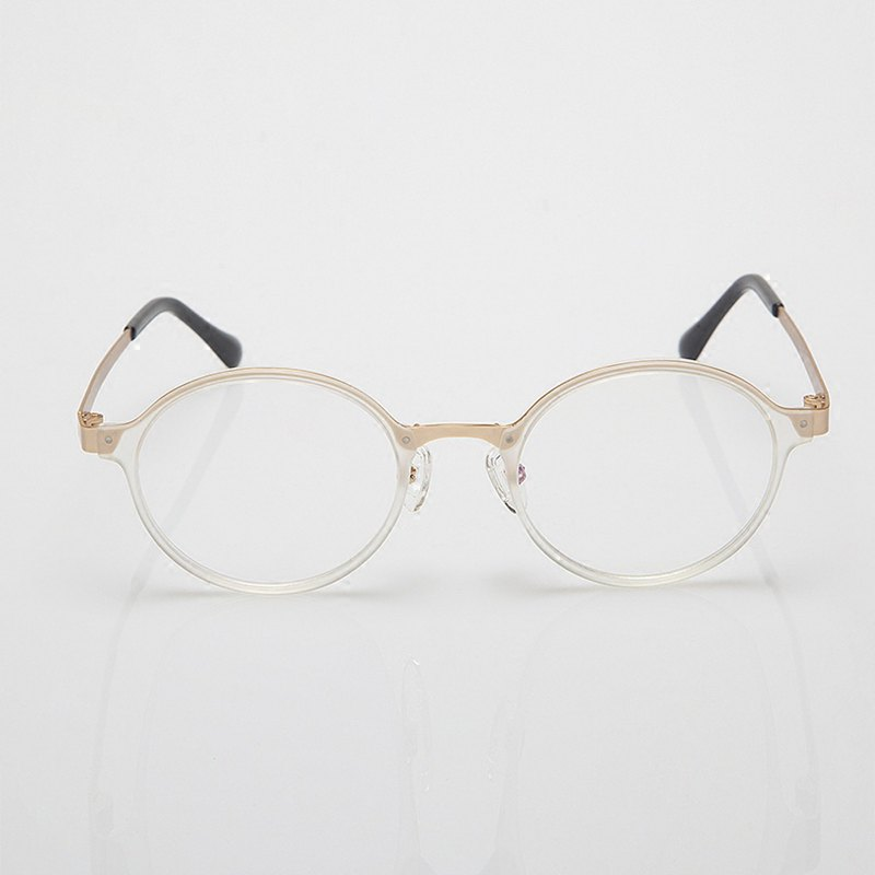 Golden edge literary glasses
