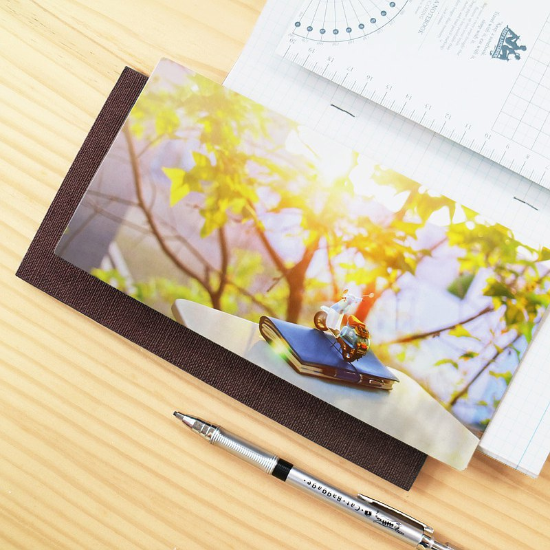 KEEP A NOTEBOOK write notes CKN-006 A5 Slim time scenery pad _ D sunset knight