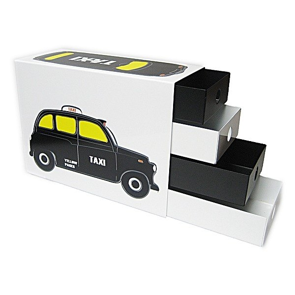 Cool music box (black English taxi)