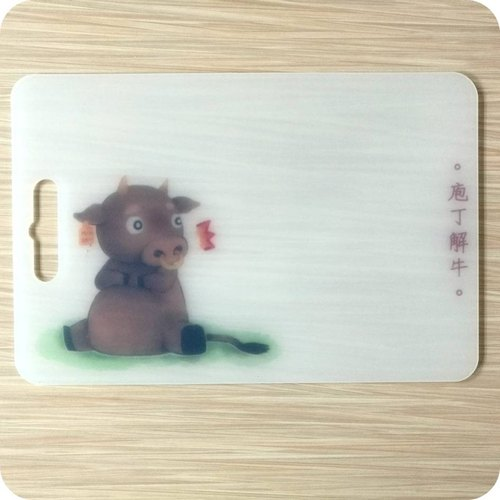 Taiwan home boutique meal kitchen chopping board dishes camping cat design environmental non-toxic mother's birthday birthday gift