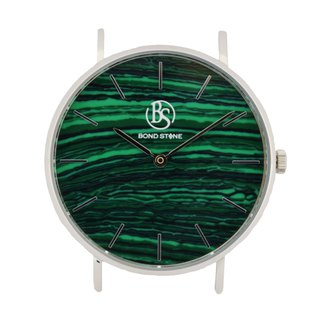 BOND STONE SHINE MALACHITE 36mm watch body only (belt optional)