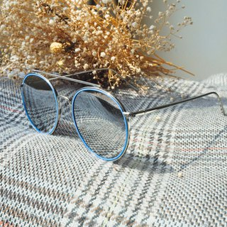 Sunglasses│Vintage Round Silver Frame│UV400 Protection│2is StasS