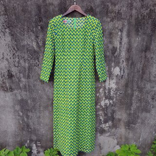 Turtle Gege - DISCO electronic sense vintage dress vintage