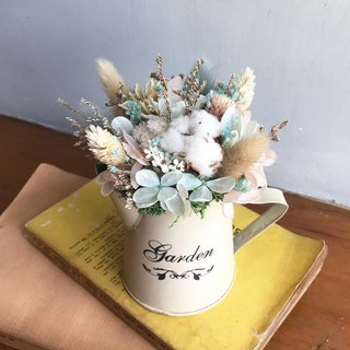 Healing watering pot flower / wedding small things / dry flowers / dry bouquet / bouquet / birthday gift / customized