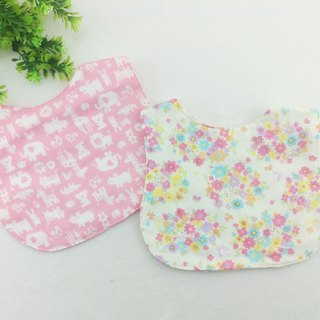 Double-sided optional cloth. Japanese six-fold yarn bib
