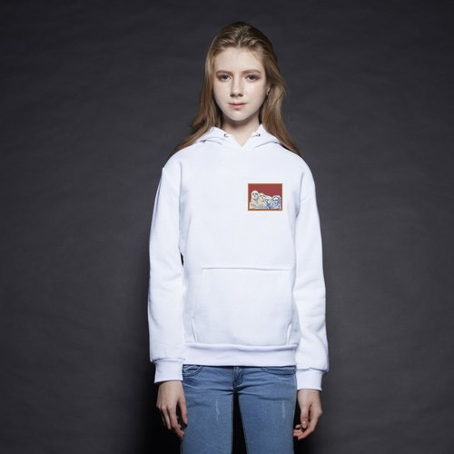 British Fashion Brand [Baker Street] Little Stamp:Mount Rushmore  Printed Hoodie