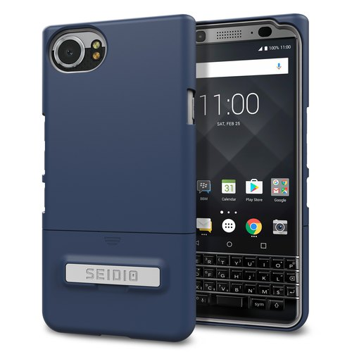 City fashion two-color protective shell / phone case for KEYone-dark night blue -SURFACE ™ series