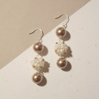 Venus Freshwater Pearl Shihualovic 925 Sterling Silver Earrings