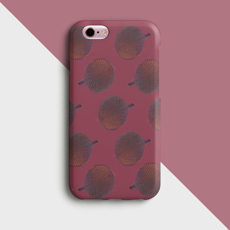 Dark durian Phone case