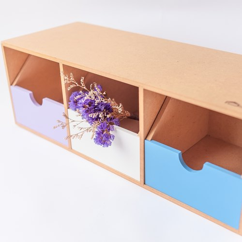 [Horizontal dual-use storage box II] handmade birthday gift Valentine's Day gift