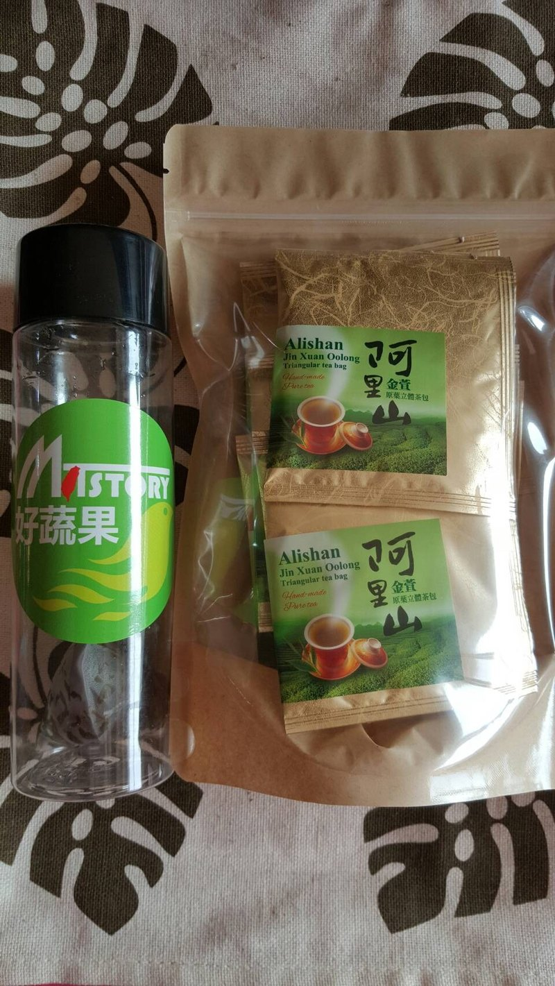 When good vegetables {} met Ali handpicking cold tea teabag original Ye Jinxuan + 3g10 into cold tea cup Portable