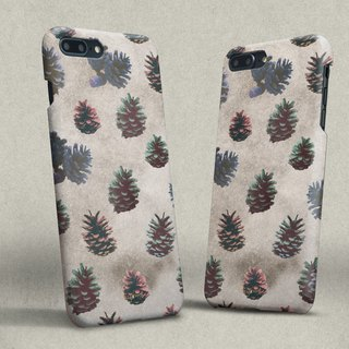 colorful Pine cones iphone case สำหรับ iphone7 iphone 8, iphone 8 plus ,iphone x