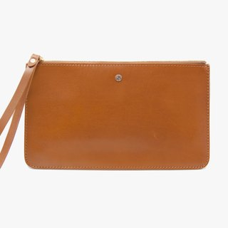 Pouch Wallet/ Clutch / Card Case / Leather / Handmade / Brown