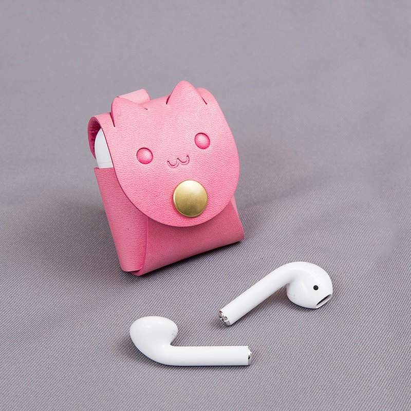 Apple AirPods Leather case(Cat)