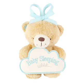 Baby cotton / boy door hanging decoration [Hallmark-ForeverFriends fluff baby series]