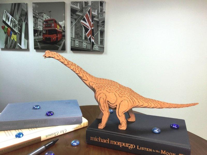 Contamo手作模型DIY材料包  恐龍系列-腕龍-大