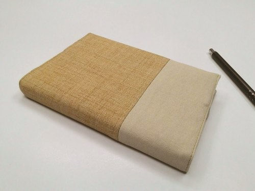 Exquisite A6 cloth book clothing ~ light goose yellow (single product) B04-034