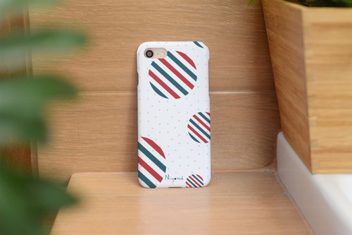 circles pattern iphone case สำหรับ iphone5s, 6s, 6s plus, 7, 7+, 8, 8+, iphone x