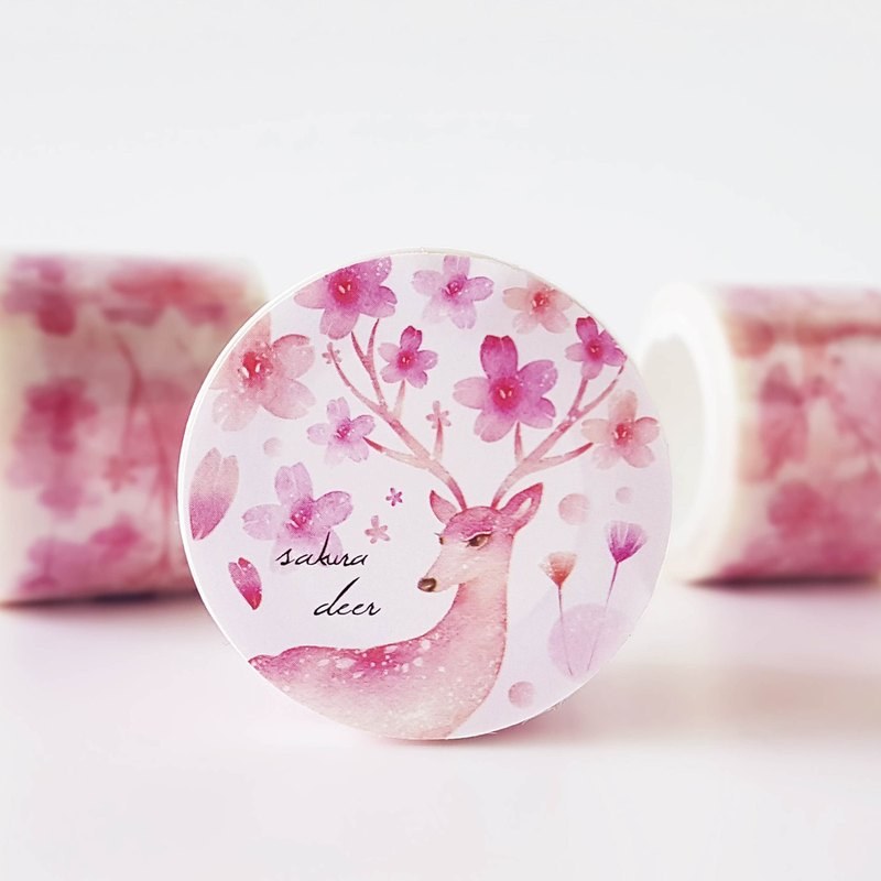 Spring cherry paper tape