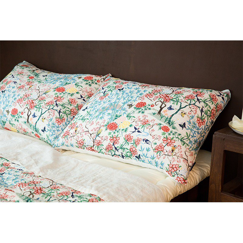 은혜직물linen summer blanket/ten long white linen summer bed set