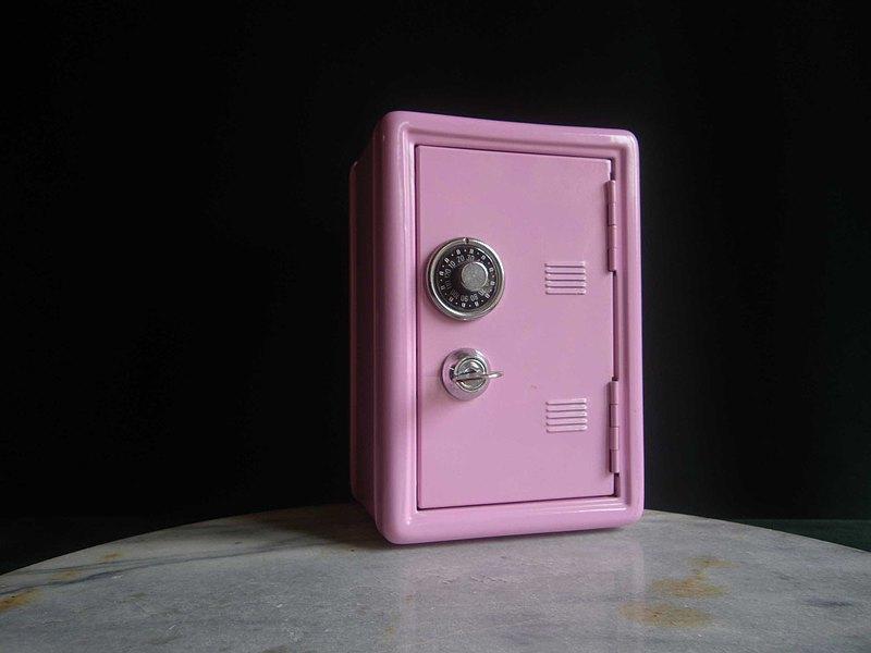 【老時光 OLD-TIME】早期台灣製保險箱造型存錢筒