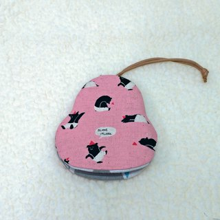 Circus Bear Pear Key Case [K181106]