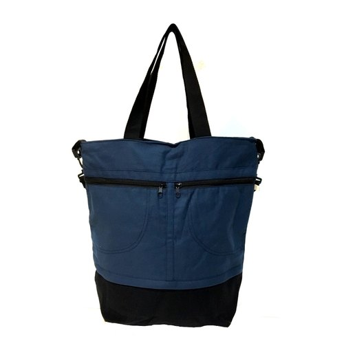 Deep Blue Fully Tote